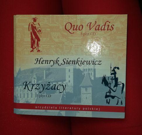 H. Sienkiewicz Krzyżacy Quo Vadis 10 płyt CD