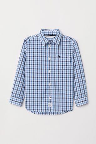 jak NOWA 1x ubrana koszula krateczka H&M rozm 116 5-6 lat