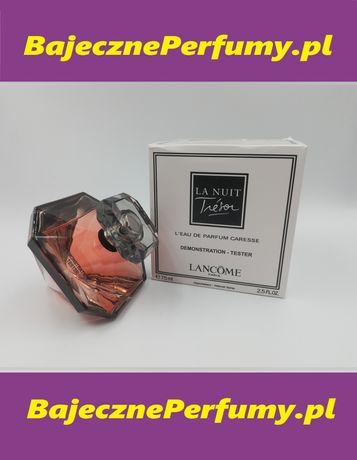 Perfumy LANCOME la nuit Tresor 75ml Tester hit okazja WYSYŁKA lllllll