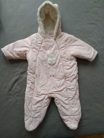 kombinezon zimowy dziewczynka 3-6 miesięcy roz. 68