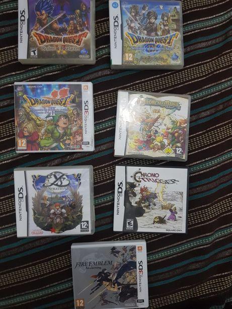 Varios RPGS DS e 3DS