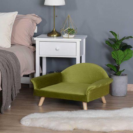 Sofá/cama verde para cães/gatos NOVO - Portes Grátis*