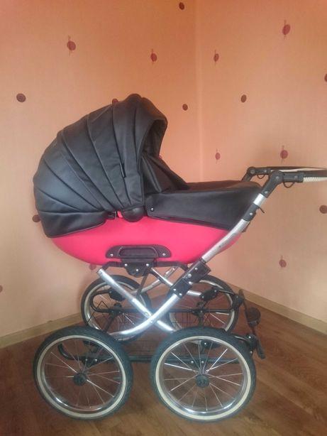 sprzedam wózek dziecięcy ROYS RETRO skóra 3W1