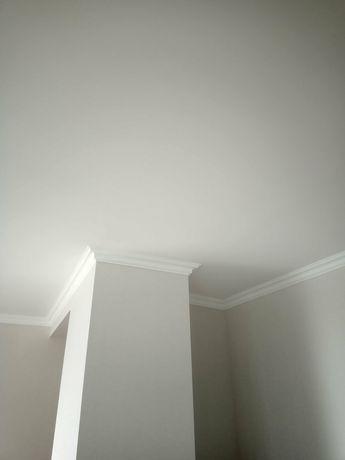 Шпаклёвка стен и потолков, штукатурка, покраска, обои, ламинат