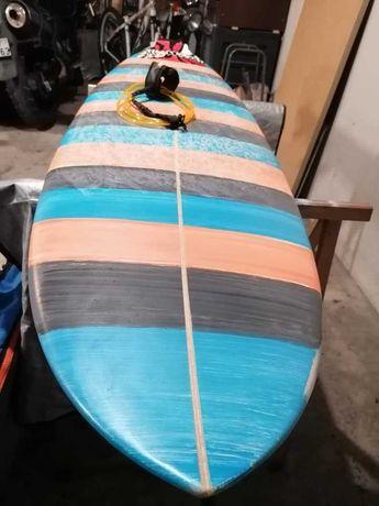 7 Evolution Funboard prancha de surfboard deck fins FCS epoxy nsp torq