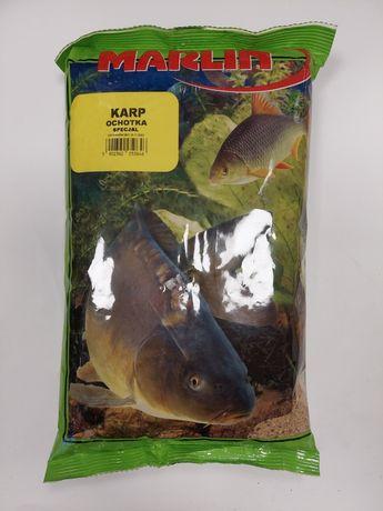 Zanęta Karp Ochotka Specjal 1kg Marlin
