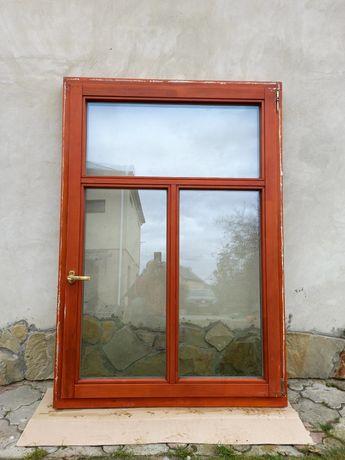 Вікна деревяні з євробусу