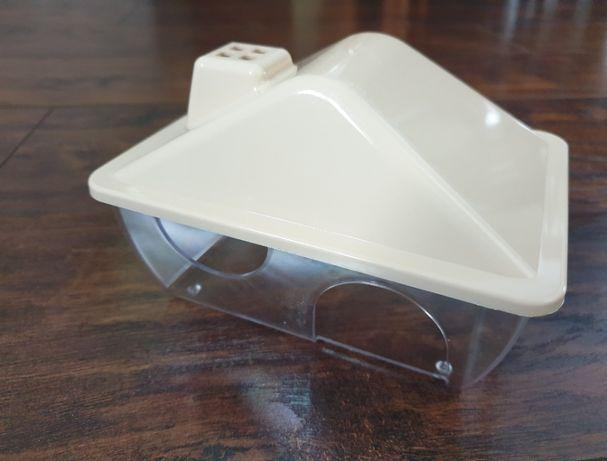 Domek dla chomika, myszki - gryzonia przeźroczysty