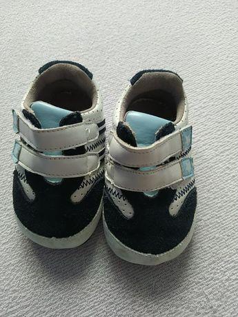Buty niechodki chłopięce