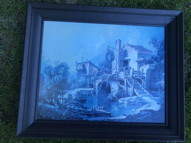 Obraz 40x50 cm w czarnej ramie