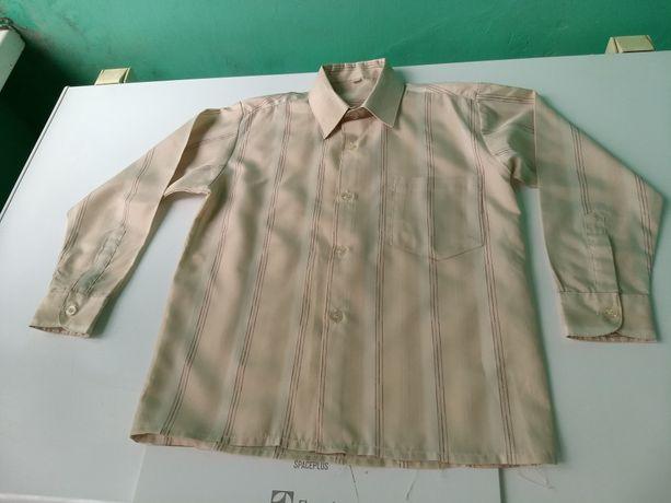 Школьная рубашка 6-7 лет