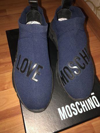 Кроссовки-носки Москино (Love Moschino)