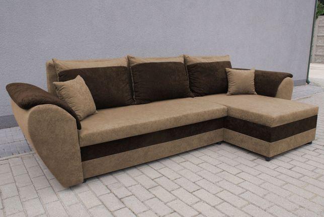 Narożnik Santos Kanapa Sofa rogówka z funkcją spania