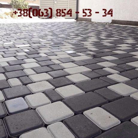 Тротуарная плитка от производителя (Укладка тротуарной плитки)
