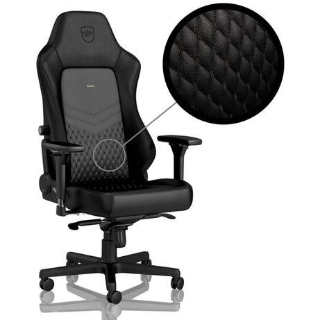 Cadeira noble chair hero pele verdadeira