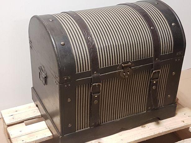 Kufer stylizowany 55 x 40 x 50 retro skrzynia stylowa drewniana