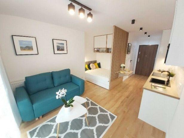 Jednopokojowe mieszkanie z aneksem sypialnym na Bielanach