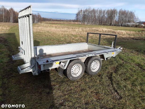 Martz Bau 3/300 3T  Przyczepa Martz pod Minikoparke 3 Tony