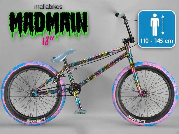 BMX Madmain Mafia Bikes Kolorowy *NEGOCJACJA  + 2x dętka gratis!*