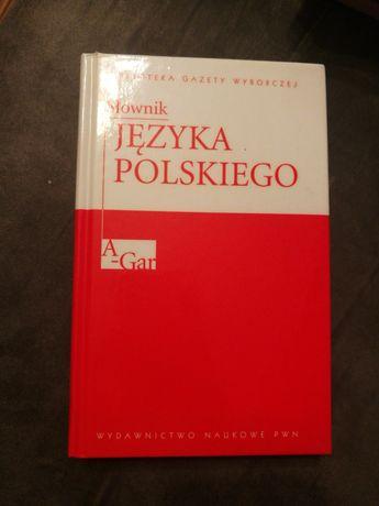 Biblioteka Gazety Wyborczej Słownik języka polskiego tom 1 A-Gar