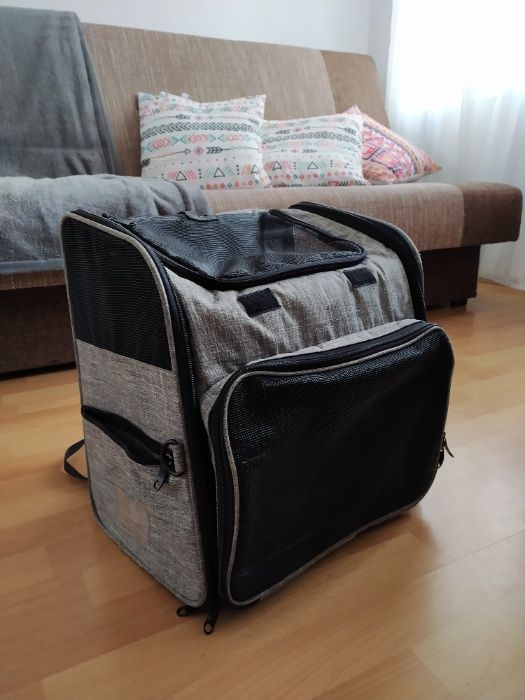 Plecak transporter dla małego psa lub kota Gdańsk - image 1