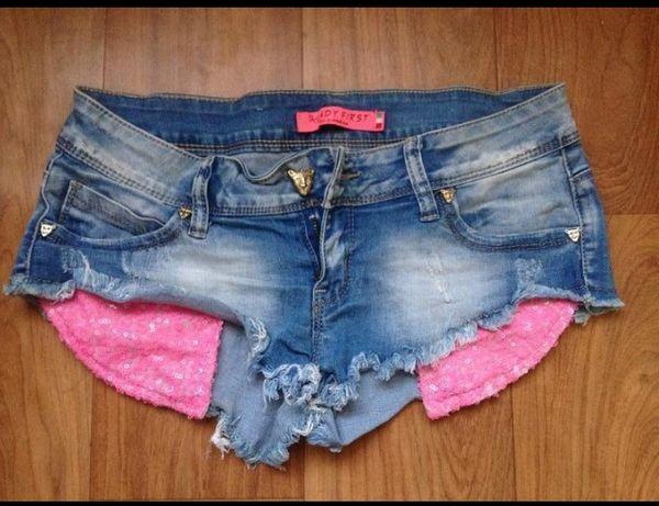 Шорты джинсовые, шортики