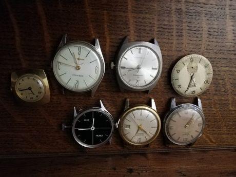 Sprzedam zestaw zegarków mechanicznym do naprawy lub na części