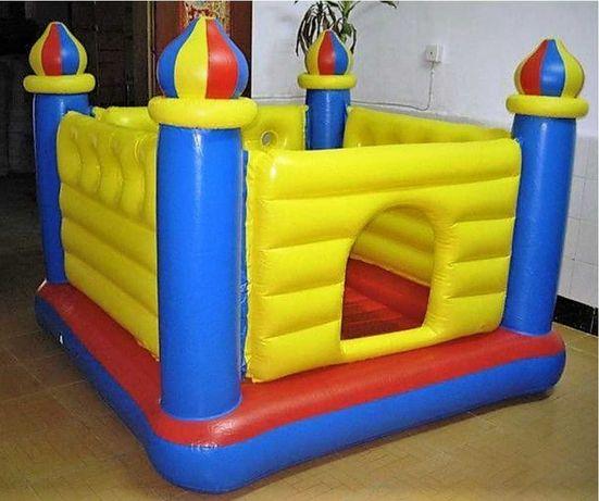 """Детский игровой центр батут 175х175х135 см модель """"Замок"""""""