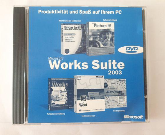 Microsoft Works Suite 2003 CD + klucz oryginalny