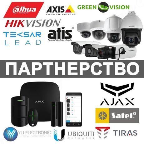 Партнерство ОПТ Ajax, Satel, Оріон, Slinex, Tantos, Neolight