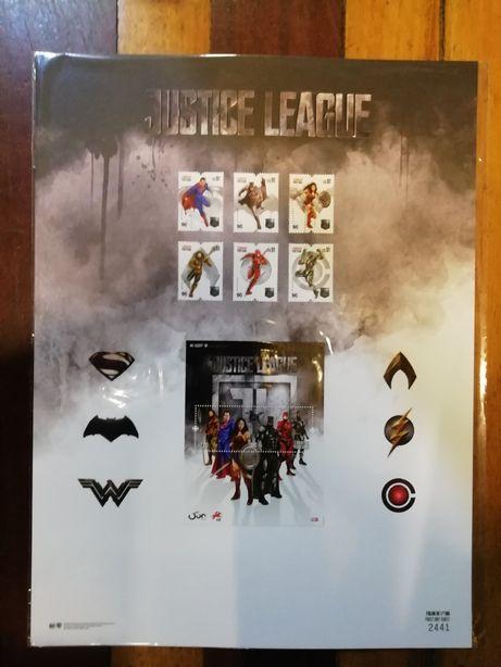 Justice League - Posters com 4 selos