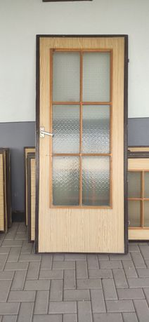 Drzwi wewnętrzne, okleina