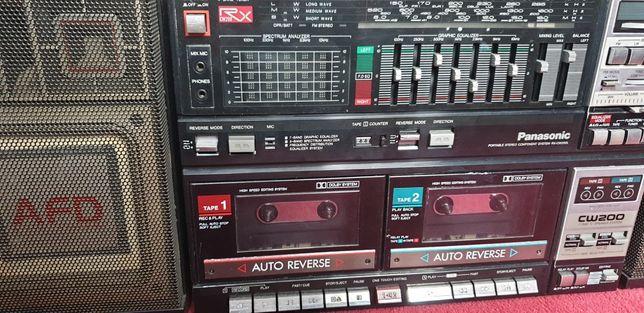 Wieża Radiomagnetofon Panasonic RX-CW200L