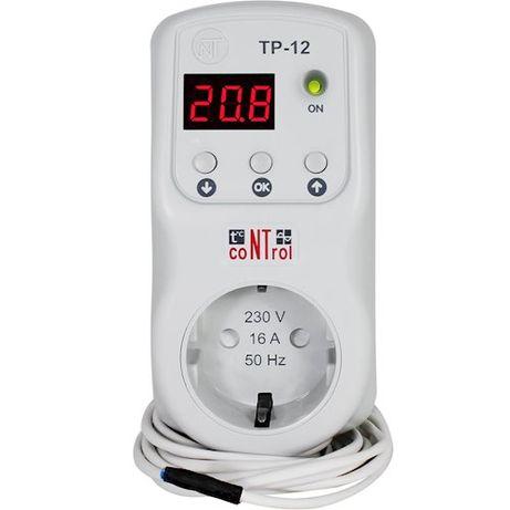 Терморегулятор NOVATEK ТР-12-1+реле напряженияс функцией защиты