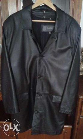 Skórzany płaszcz Marbet