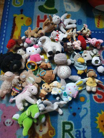 Маленькие мягкие игрушки. Брелки на рюкзак