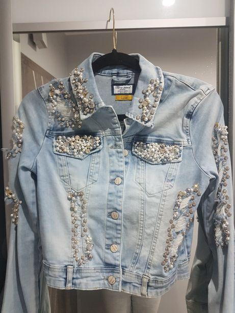 Kurtka jeansowa D She Luxe M/L