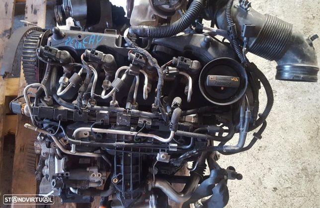Motor VW Golf VI / Seat Ibiza / Leon / Toledo / Audi A1 1.6 Tdi para Peças Ref: CAY