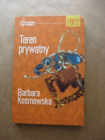 "książka ""Teren prywatny"" Barbara Kosmowska"