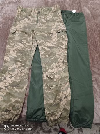 Продам  брюки,комплект утепленный