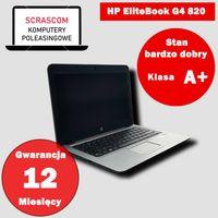 Laptop HP EliteBook G4 820 i5 8GB 240GB SSD Windows 10 GWAR 12msc