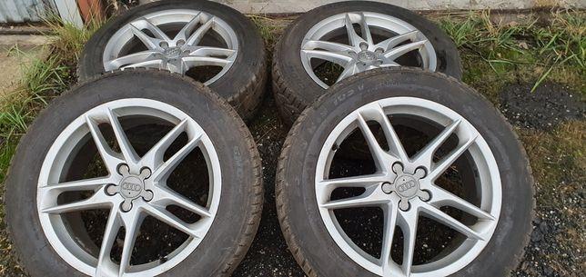 Oryginalne koła Audi Q5 zimowe jak nowe 235/55/19 dot2019 - 8.0Jx19