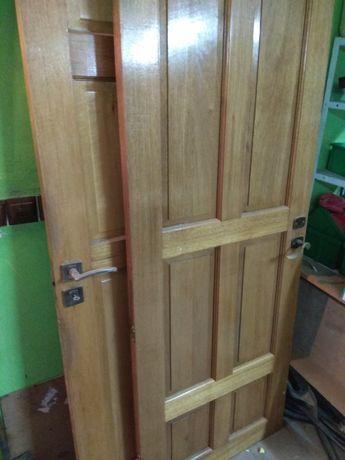 Drzwi dębowe 80 70