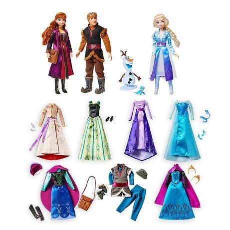 Disney Frozen 2 Мега набор кукол Холодное сердце Анна, Эльза и Кристоф