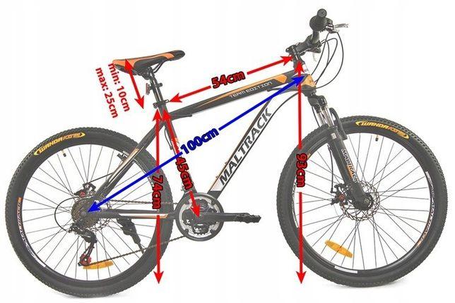 Rower Gorski MTB SHIMANO Amortyzatory