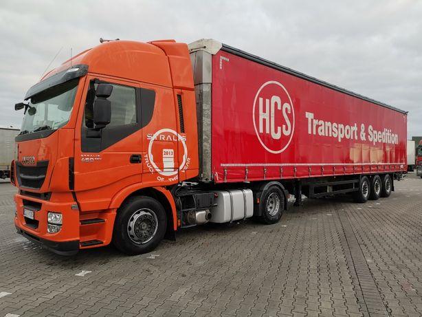 IVECO EEV Nowe turbo sprzęgło opony Schmitz Cargobull SCB S3T 2015