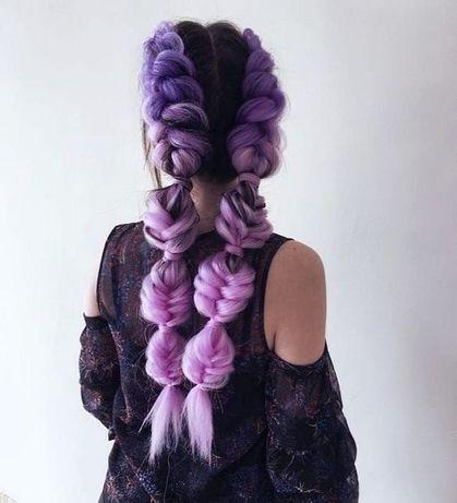 Косы с канекалоном, плетение кос