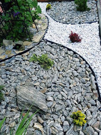 Kora kamienna 2 tony z dostawą szara lub brąz kamień naturalny gnejs