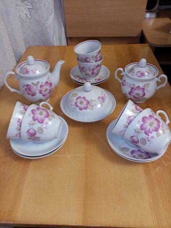 Новый чайный сервиз на 6 персон