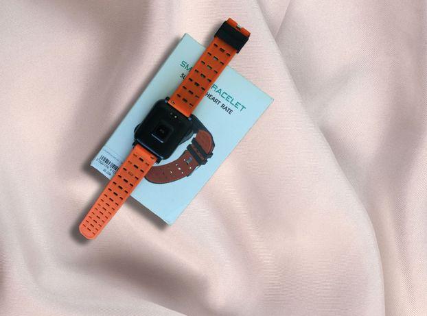 Топовый Фитнес-браслет трекер А6 Уникальный дизайн! Большой Дисплей!!